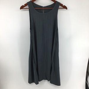 CP Shades Gray Sleeveless Dress